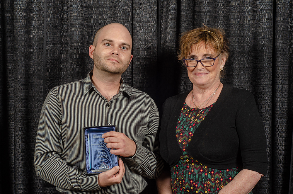 Empowered Learning Award (Staff) - Kyle Beach