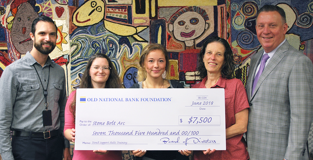 Old National Bank Foundation funds Stone Belt Arc skills program